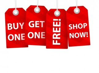 Buy 1 Get 1 Free Banner Ad
